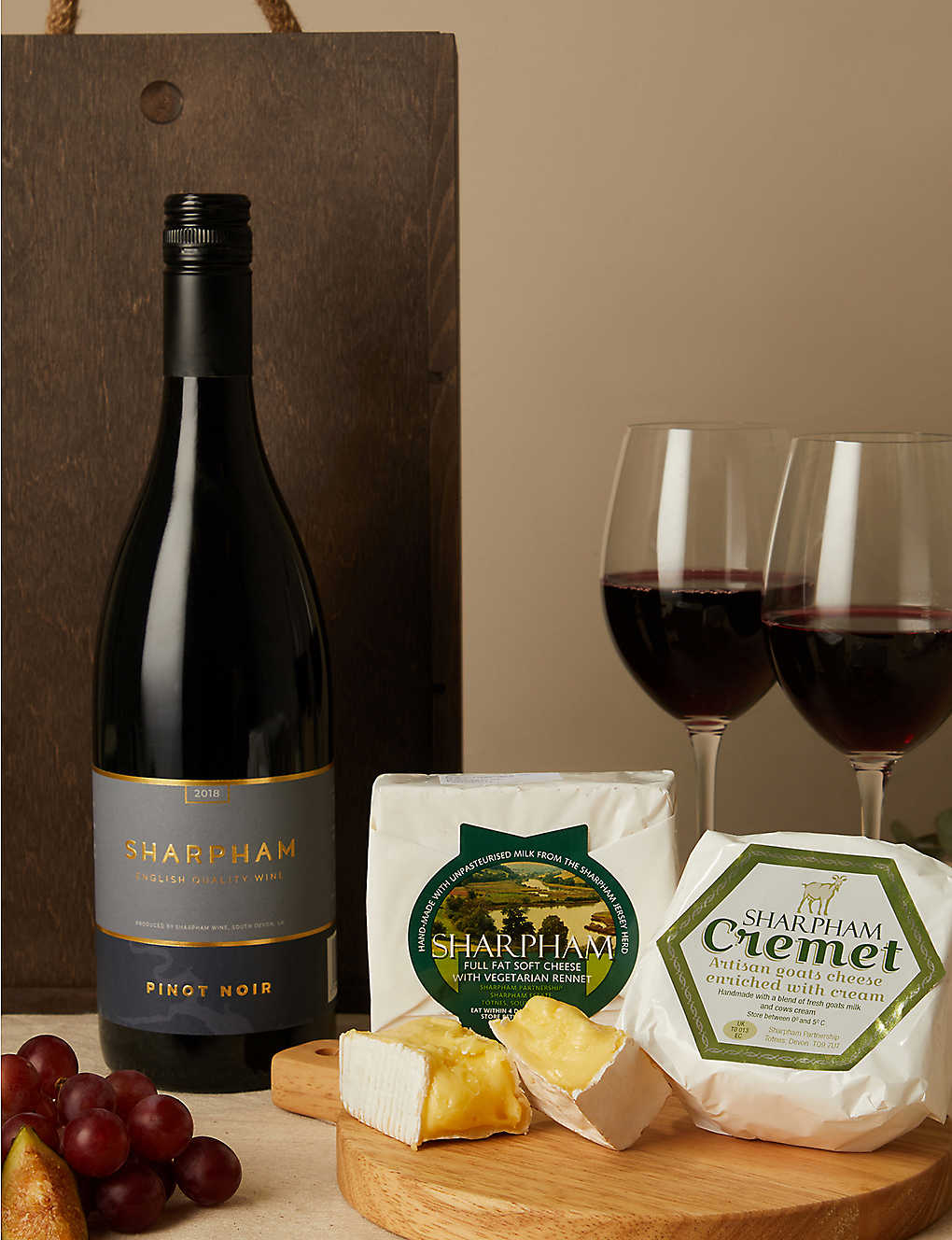 SHARPHAM CHEESE: Cheese Makers Choice experience gift set