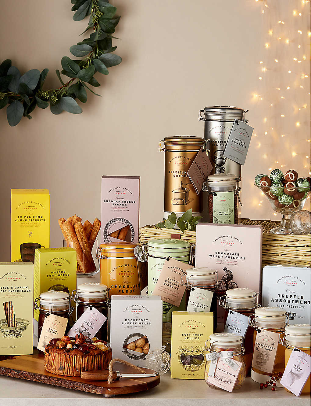 CARTWRIGHT & BUTLER: British Pantry Hamper