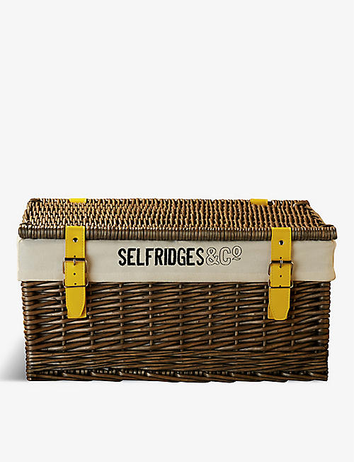 SELFRIDGES SELECTION: Wicker hamper basket 48.5cm