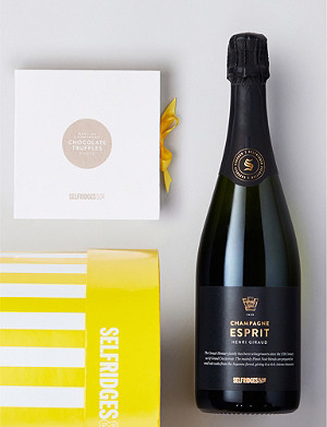 SELFRIDGES SELECTION Decadent Champagne & Chocolates Gift Box