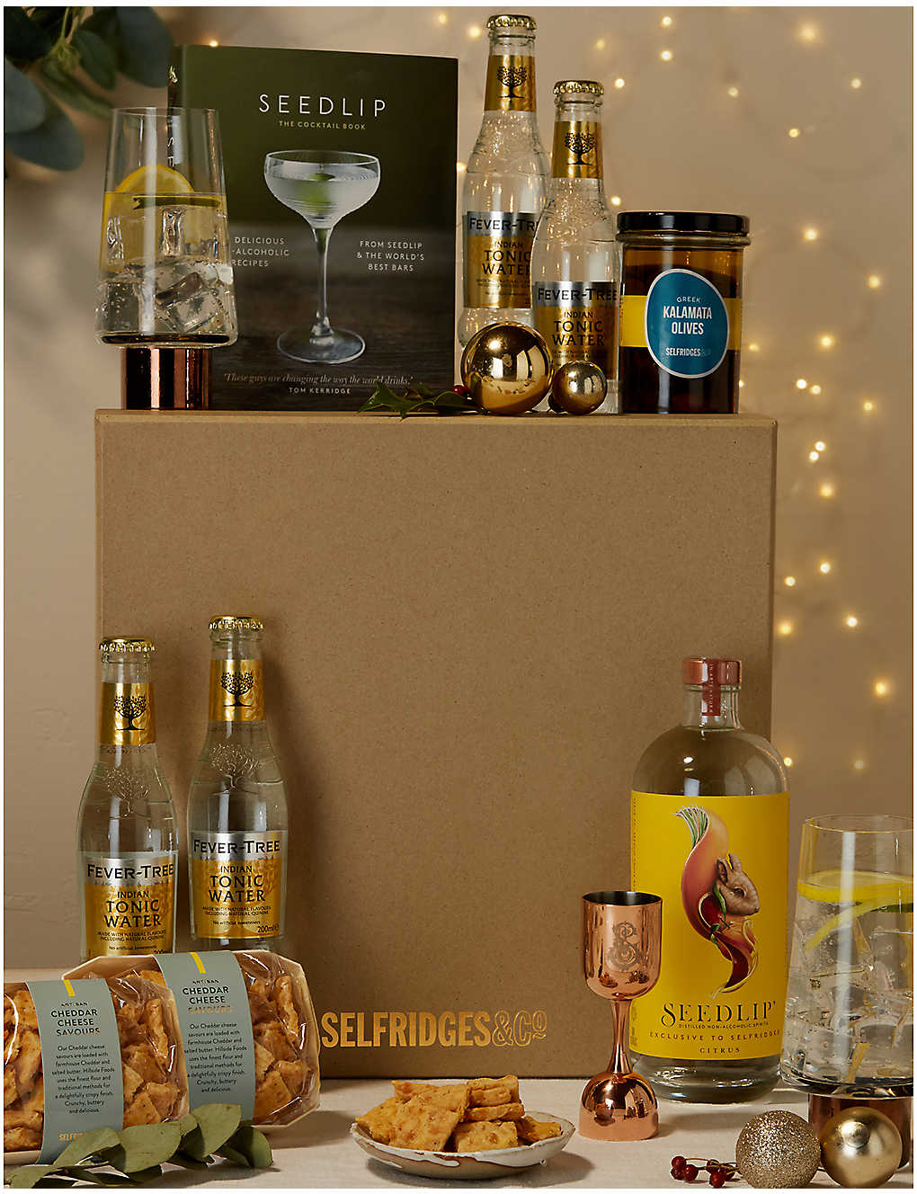 SELFRIDGES SELECTION: The Alcohol-Free Cocktail Gift Box
