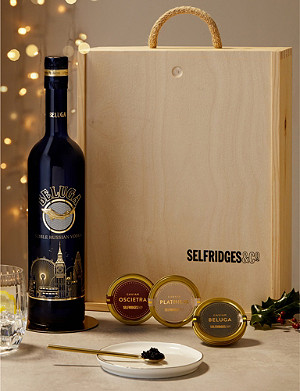 SELFRIDGES SELECTION Caviar and Vodka Gift Box