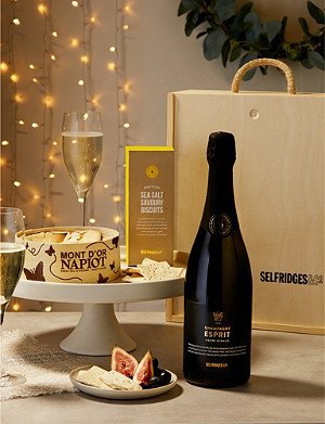 SELFRIDGES SELECTION Vacherin Cheese and Champagne Gift Box
