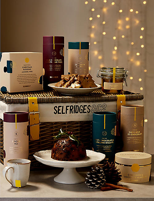 SELFRIDGES SELECTION Classic Alcohol-free Christmas Hamper