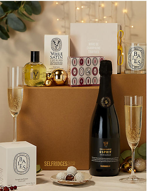 SELFRIDGES SELECTION Champagne diptyque Gift Box