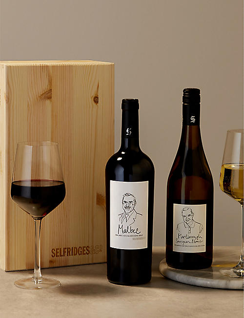 SELFRIDGES SELECTION New World Wine Gift Box