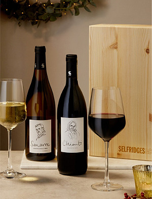 SELFRIDGES SELECTION Old World Wine Gift Box