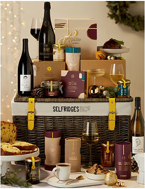 SELFRIDGES SELECTION Christmas Pantry Hamper