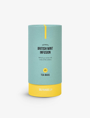 SELFRIDGES SELECTION Herbal British Mint Infusion 30g