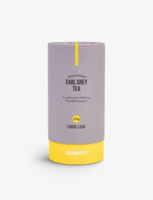 SELFRIDGES SELECTION Traditional Earl Grey Tea 125g