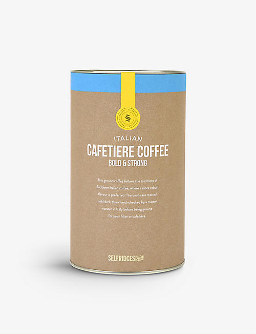 SELFRIDGES SELECTION: Italian Caffetiere Coffee Bold & Strong 250g