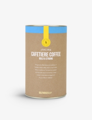 SELFRIDGES SELECTION Italian Caffetiere Coffee Bold & Strong 250g