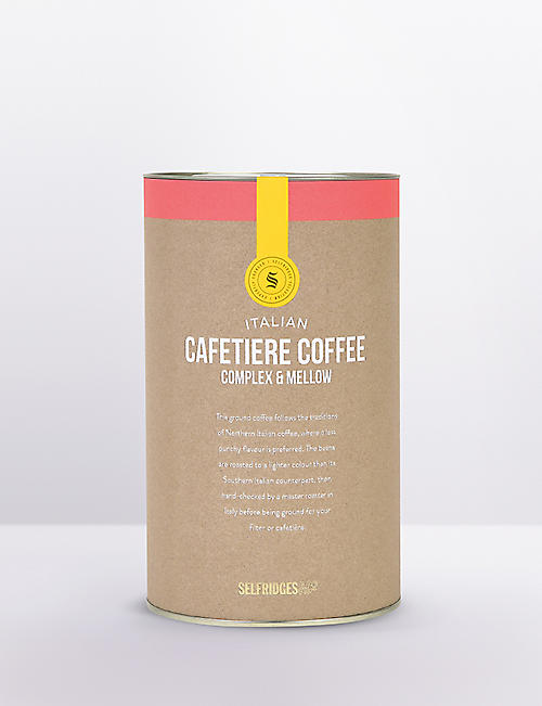 SELFRIDGES SELECTION:意大利 Caffetiere 咖啡复合和醇厚250g