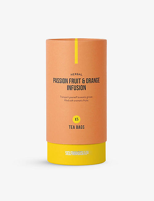 SELFRIDGES SELECTION: Herbal Passion Fruit and Orange Infusion 37.5g