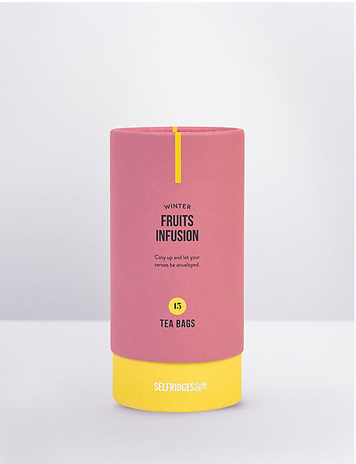 SELFRIDGES SELECTION Winter fruits infusion 15 tea bags