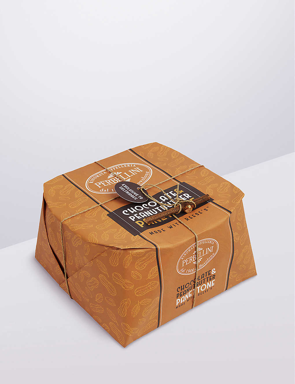 PERBELLINI: Chocolate Peanut Butter Panettone made with Reese's Exclusively for Selfridges 1kg