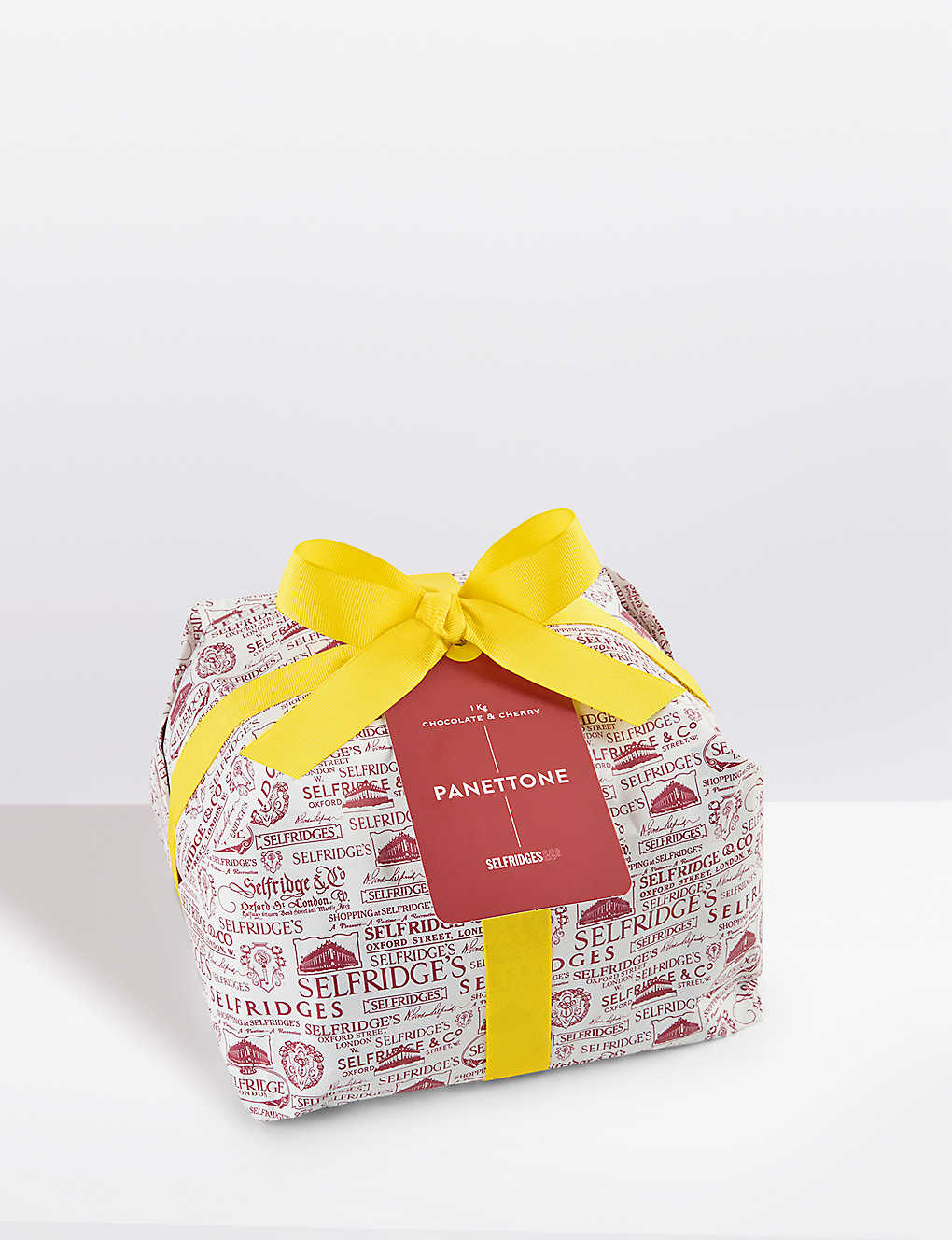 16d1d86c5b SELFRIDGES SELECTION - Wrapped chocolate and cherry panettone 1kg ...