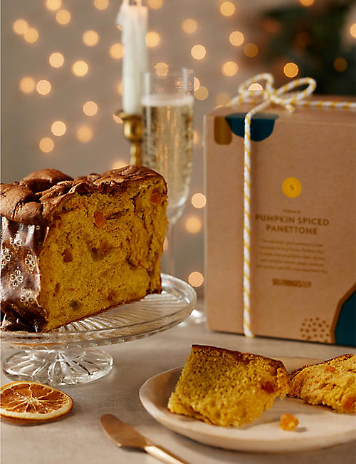SELFRIDGES SELECTION Vegan pumpkin-spiced panettone 800g