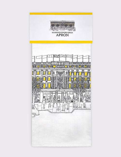 SELFRIDGES SELECTION Heritage kitchen apron