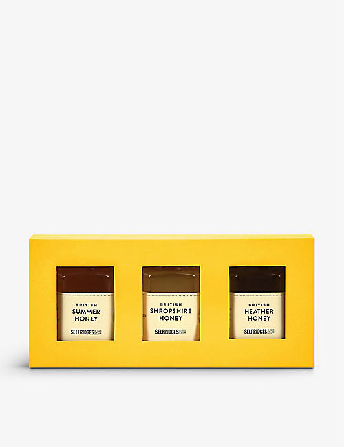 SELFRIDGES SELECTION: British honey trio 3x90g