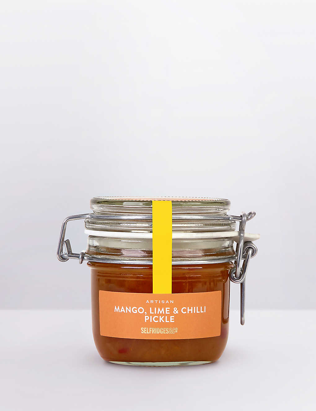SELFRIDGES SELECTION: Artisan Mango Lime & Chilli pickle 240g