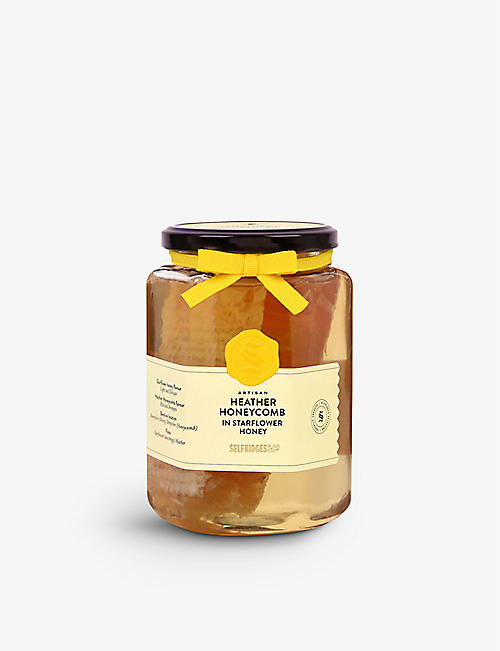 SELFRIDGES SELECTION: Heather honeycomb starflower honey 900g