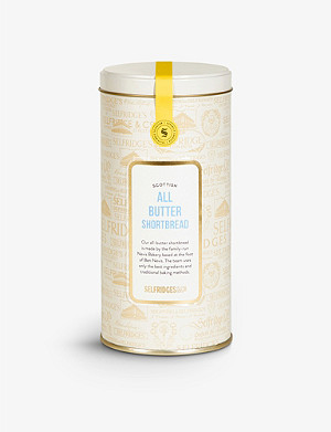 SELFRIDGES SELECTION All-butter shortbread tin