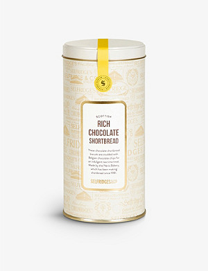 SELFRIDGES SELECTION All-butter chocolate shortbread tin