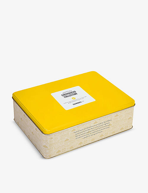 SELFRIDGES SELECTION All-butter shortbread collection tin 685g