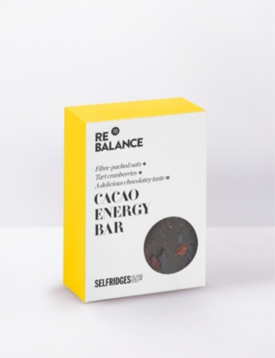 SELFRIDGES SELECTION Cacao energy bar 70g