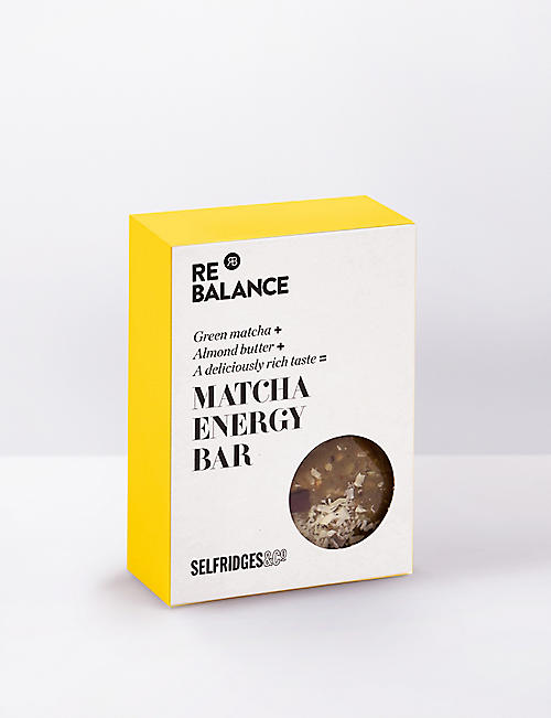 SELFRIDGES SELECTION ReBalance Matcha energy bar 70g