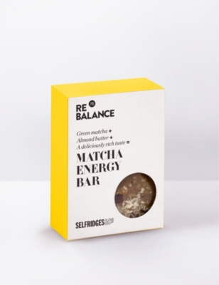 SELFRIDGES SELECTION Matcha energy bar 70g