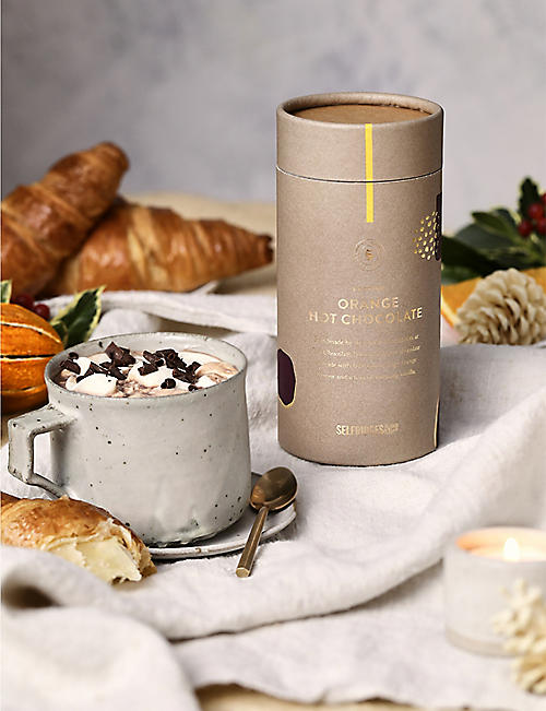 SELFRIDGES SELECTION Festive Orange Hot Chocolate 200g