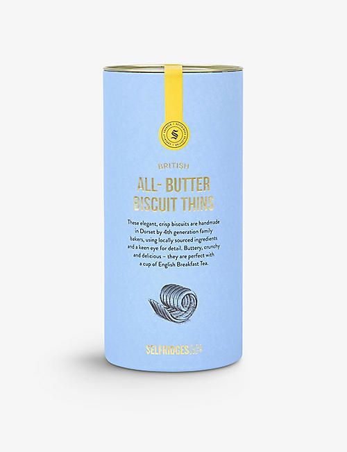 SELFRIDGES SELECTION: Selfridges Selection All-butter biscuit thins 115g
