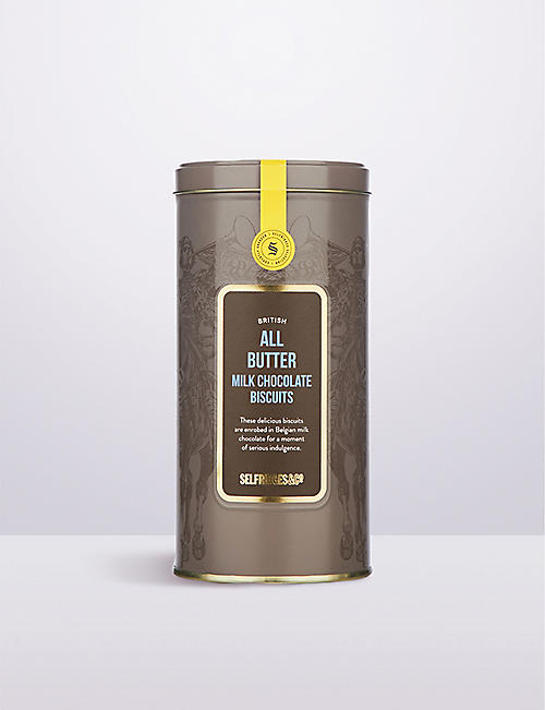 SELFRIDGES SELECTION British All Butter Milk Chocolate Biscuits 180g