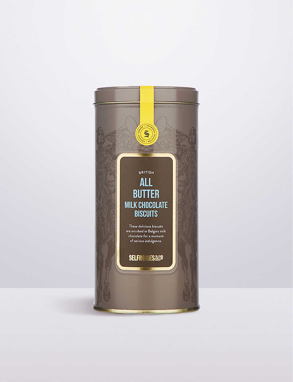 SELFRIDGES SELECTION: British All Butter Milk Chocolate Biscuits 180g