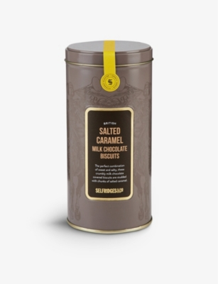 SELFRIDGES SELECTION British Salted Caramel Milk Chocolate Biscuits 180g