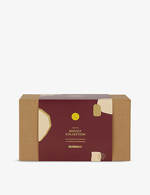 SELFRIDGES SELECTION Festive Biscuit Collection 500g