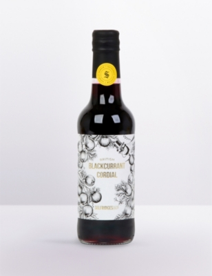 SELFRIDGES SELECTION Blackcurrant cordial 330ml