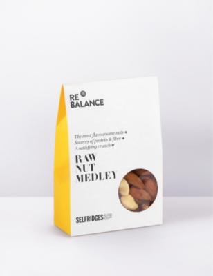 SELFRIDGES SELECTION Raw nut medley 75g