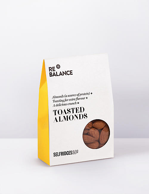 SELFRIDGES SELECTION ReBalance whole roasted almonds 75g