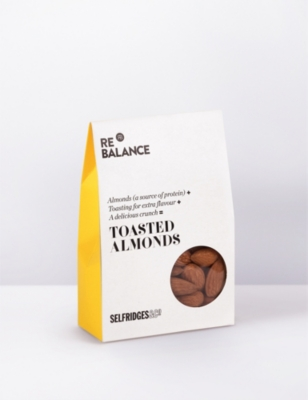 SELFRIDGES SELECTION Toasted almonds 75g