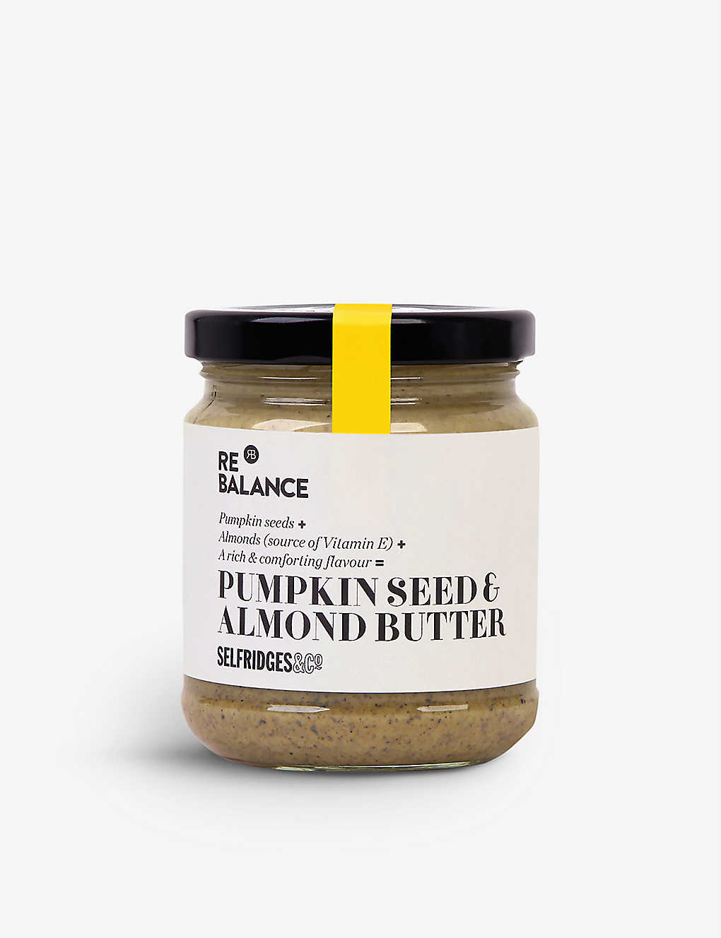 SELFRIDGES SELECTION: Pumpkin seed & almond butter 190g