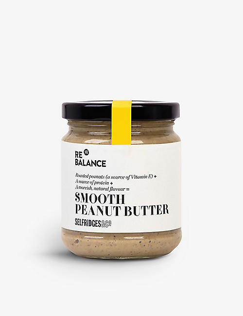 SELFRIDGES SELECTION Smooth peanut butter 190g