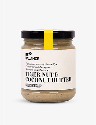 SELFRIDGES SELECTION: Cashew, tiger nut & coconut butter 190g
