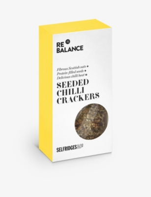 SELFRIDGES SELECTION Seeded chilli crackers 80g