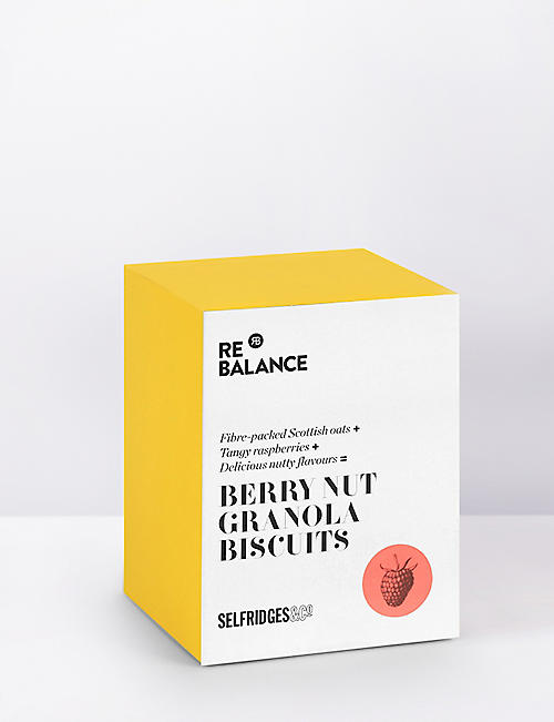 SELFRIDGES SELECTION: Berry nut granola biscuits 200g