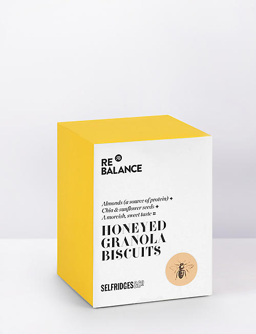 SELFRIDGES SELECTION ReBalance honeyed granola biscuits 200g