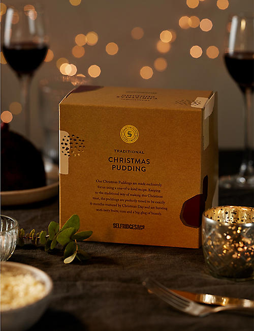 SELFRIDGES SELECTION Traditional Christmas Pudding 450g