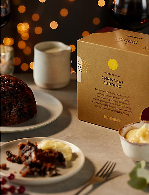 SELFRIDGES SELECTION Traditional Christmas Pudding 905g